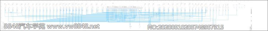 2012保时捷卡宴全车电路图(72) DME V8(发动机侧)